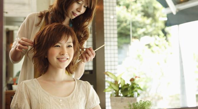成人式の髪切り